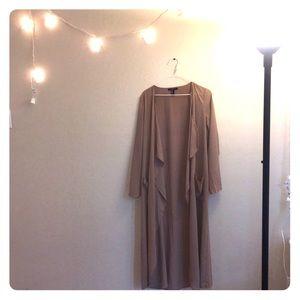 Forever 21-  sheer / nylon fabric over piece